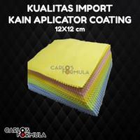 Kain Aplikator Pad Coating Mobil Bahan Microfiber Lap Mikrofiber Poles