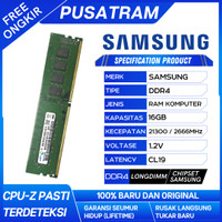 RAM PC SAMSUNG DDR4 16GB 21300 / 2666 MHz ORI RAM NB DDR4 8GB 2666 MHz