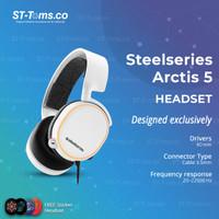 Steelseries Arctis 5 / Arctis5 RGB Wired Gaming Headset DTS 7.1 - Putih
