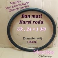 Ban mati kursi roda 24 × 1 3/8,sparepart kursi roda