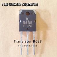 TRANSISTOR B688 PNP B 688 POWER Amplifier ASLI