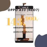 LCD + Touchscreen OPPO A33/ Neo7 (Fullset) - Putih