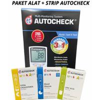 Alat Autocheck 3 in 1 plus Strip