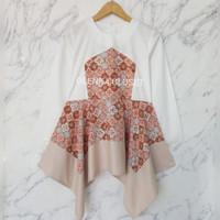 Atasan Batik Dobby 62.1 Baju Blus Blouse Kerja Wanita Modern