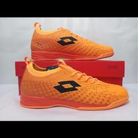 Sepatu Futsal Lotto Spark IN Beat/Orange (L01040004)