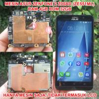 Mesin Asus Zenfone 2 Z00AD ZE551ML Ram 4GB Rom 32GB Hidup Nyala Minus