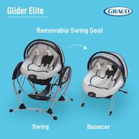 Graco Baby Glider Elite Swing / Rocker Bouncer / Kursi Ayun Bayi