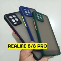 Aero Bumper case Realme 8/ 8 Pro Case Dove Ring Kamera