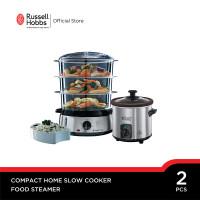 Bundling Russell Hobbs Food Steamer - Home Slow Cooker