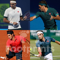 Uniqlo Roger Federer Tennis Polo Shirt Baju Tenis Limited Edition RF