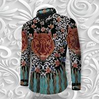 Kain Batik Full Tulis (Pola Kemeja) KTN4