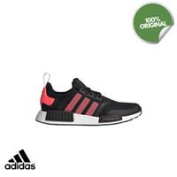 Sepatu Adidas NMD_R1 Black Signal Pink Sneakers Pria Original