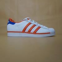 Adidas Superstar Rivalry Leather White/Orange/Blue Original BNIB