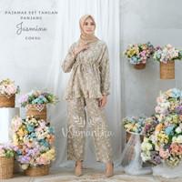vSamantha Pajamas Set Rayon Jasmine Rempel BUSUI|Tangan panjang,Celana