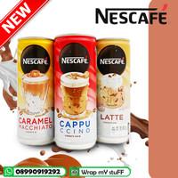 Nescafe kopi Kaleng BARU 220ml - Caramel - Cappuccino - Latte