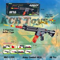 Tembakan M416 PUBG FF VALORANT Peluru Busa Soft Bullet Mainan BRO1224