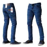 Celana Jeans Panjang Pria Slimfit Pensil Bahan Street dan Melar - BIO WOSH, 27