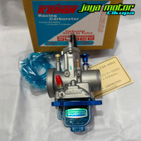 Karburator karbu Keihin Sudco PWK 28 pwk28 Blue Series transparan