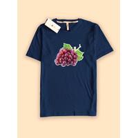 Kaos Baju Tshirt Premium CAMOE desain anggur Grape - S