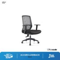 Kursi Kantor, kursi kerja Alvaro Low back Chair Officescale