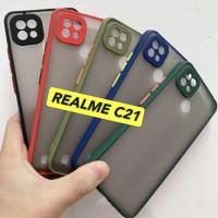 Aero Bumper case Realme C21 Case Dove Ring Kamera