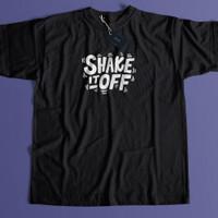 Baju Distro Oversize Kaos Shake it Off - Hitam, S
