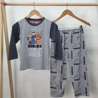 ROBLOX Setelan Piyama Baju Tidur anak laki laki PANJANG uk 8-18 - 18