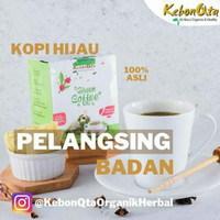 Green Coffee / Kopi Hijau (Celup Vacum) 300gr