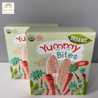 Yummy Bites Rice Crackers Organic Carrot / Wortel Biskuit Bayi Korea