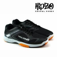 Sepatu Pria Hipzo Casual Sepatu Badminton Sepatu Olahraga Original - Hitam, 39