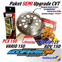 PAKET SEMI Upgrade CVT Vario 125-PCX 150 HONDA ADV Kirian CVT Custom