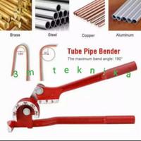 Mesin Alat tekuk Pipa besi Manual pipe Bender 3.6.8.mm tekuk/ bengkok