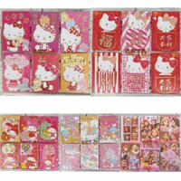 Kertas Angpao isi 6 ORI Hello Kitty Melody Little Twin Stars Princess