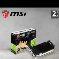 VGA MSI Geforce GT 730 2GB - GT730 2 GB DDR3 / N730K-2GD3H/LP