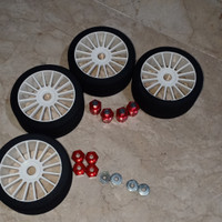 Ban Foam Rc Buggy Truggy 1/8 + Hex adaptor 1/10 to 1/8
