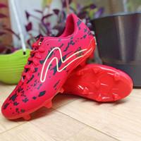Sepatu Sepak Bola specs bercak terkeren - Merah, 38
