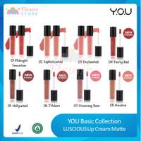 YOU LUSCIOUS Lip Cream Matte Original BPOM - Midn. Sensation