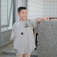 Baju koko anak laki laki/Kurta anak laki laki milenium 6-12 - crem, S