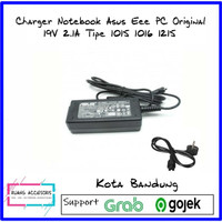 Charger Notebook Asus Eee PC Original 19V 2.1A Tipe 1015 1016 1215