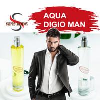 Parfum Pria / Cowok Aroma Aqua Digio Man Spray Bibit Refill Import