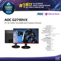 Monitor LED AOC G2790VX 27 1080p 144Hz 1ms 350cdm HDMI DP
