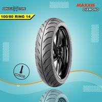 BAN MOTOR MATIC RING 14 MAXXIS DIAMOND MATIC 100/80 RING 14 TUBLES