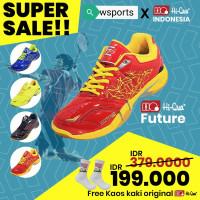 [[SUPER SALE]] Sepatu Badminton HiQua Future Original