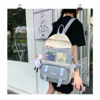 Joshee Tas ransel wanita Backpack wanita Backpack pria Fashion X0718 - Blue, Fashion X7411