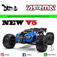 ARRMA 1/8 KRATON 6S V5 4WD BLX Speed Monster Truck with Spektrum Firma