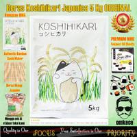 Beras Jepang/Beras Sushi/Beras Onigiri Koshihikari Premium Quality 5KG