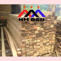 kayu balok 6x12 lokal pk panjang sebutan 4meter