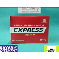 Ban Dalam Motor Metik 275/300 - 14 Express Ban Dalam Belakang