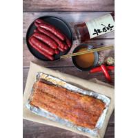 Saucu Babi Panggang Bapang Asli Bangka (250 Gram) Roasted Pork