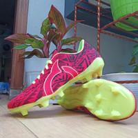 Sepatu Sepak Bola Ortuseight Catalyis 12345 - merah setabilo, 38